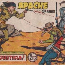 Tebeos: APACHE 2ª PARTE Nº 67: JUSTICIA. Lote 220875801
