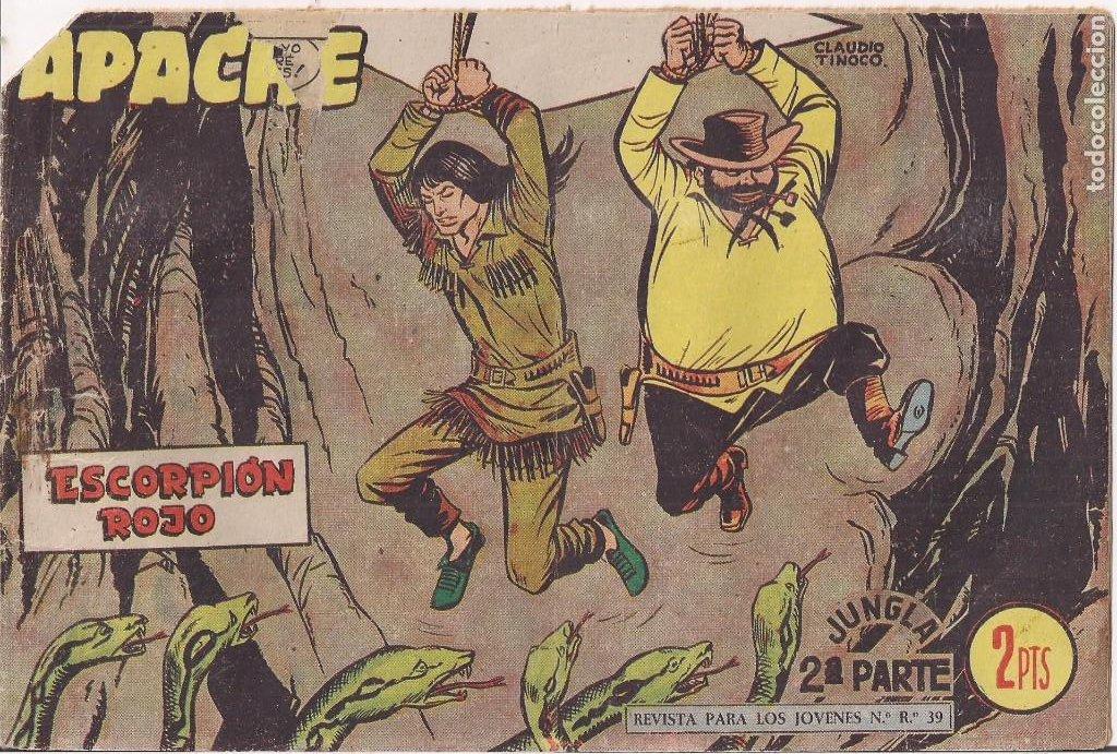 APACHE 2ª PARTE Nº 69: ESCORPIÓN ROJO (Tebeos y Comics - Maga - Apache)