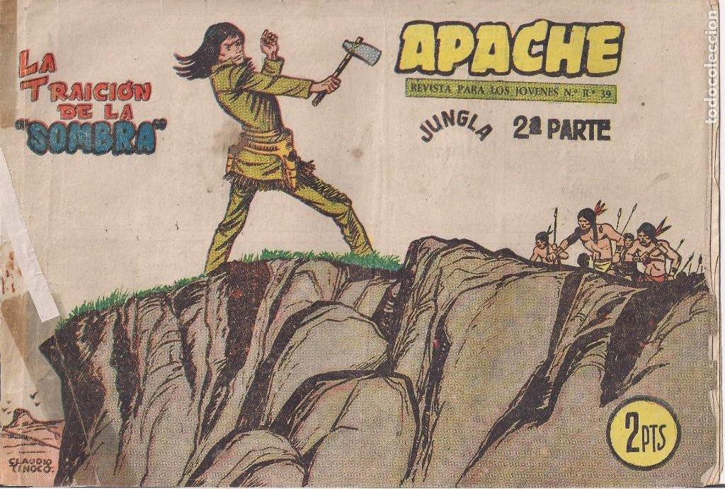 APACHE 2ª PARTE Nº 70: LA TRAICIÓN DE LA SOMBRA (Tebeos y Comics - Maga - Apache)