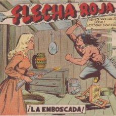 BDs: FLECHA ROJA Nº 2: LA EMBOSCADA. Lote 220986520