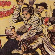 Tebeos: HACHA Y ESPADA Nº 17 ORIGINAL, MAGA 1961 MUY BIEN -- LEER TODO. Lote 221115298