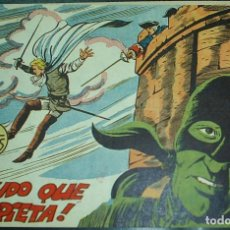Tebeos: HACHA Y ESPADA Nº 19 ORIGINAL SIN ABRIR, MAGA 1961 MUY BIEN -IMPORTANTE LEER TODO. Lote 221115353