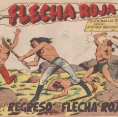 Tebeos: FLECHA ROJA Nº 10: EL REGRESO DE FLECHA ROJA. Lote 221116947
