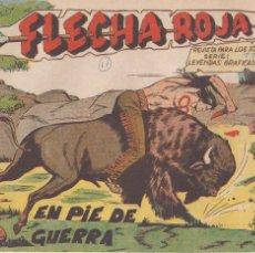 Tebeos: FLECHA ROJA Nº 11: EN PIE DE GUERRA. Lote 221117240