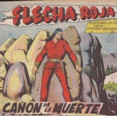 Tebeos: FLECHA ROJA Nº 27: EL CAÑÓN DE LA MUERTE. Lote 221117747