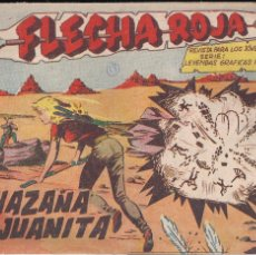 Tebeos: FLECHA ROJA Nº 29: LA HAZAÑA DE JUANITA. Lote 221117908