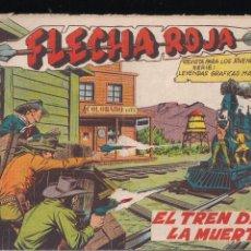 Tebeos: FLECHA ROJA Nº 31: EL TREN DE LA MUERTE. Lote 221395612