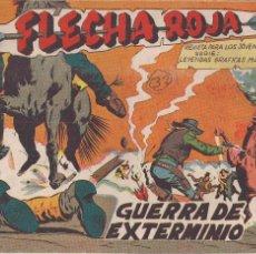 Tebeos: FLECHA ROJA Nº 32: GUERRA DE EXTERMINIO. Lote 221395722