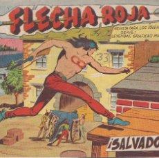 Tebeos: FLECHA ROJA Nº 33: SALVADOS. Lote 221395832