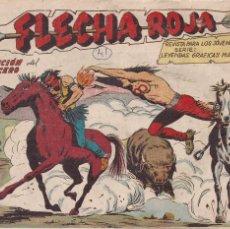 Tebeos: FLECHA ROJA Nº 41: LA TRAICIÓN DEL HECHICERO. Lote 221396603