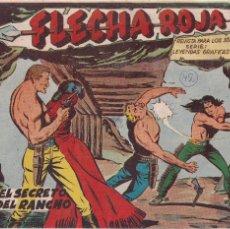 Tebeos: FLECHA ROJA Nº 42: EL SECRETO DEL RANCHO. Lote 221467162