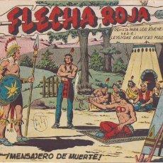 Tebeos: FLECHA ROJA Nº 44: MENSAJERO DE MUERTE. Lote 221467303