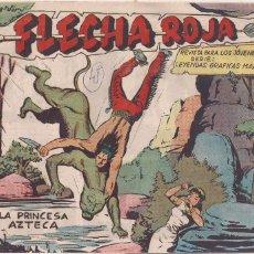 Tebeos: FLECHA ROJA Nº 45: LA PRINCESA AZTECA. Lote 221467395