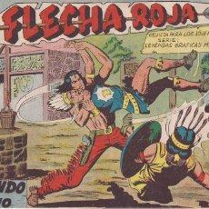 Tebeos: FLECHA ROJA Nº 46: LUCHANDO CONTRA EL TIRANO. Lote 221467458
