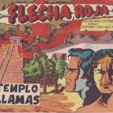 Tebeos: FLECHA ROJA Nº 51: EL TEMPLO EN LLAMAS. Lote 221467755