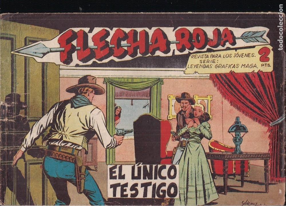 FLECHA ROJA Nº 53: EL ÚNICO TESTIGO (Tebeos y Comics - Maga - Flecha Roja)