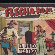 Tebeos: FLECHA ROJA Nº 53: EL ÚNICO TESTIGO. Lote 221599697