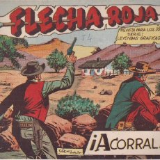 Tebeos: FLECHA ROJA Nº 54: ACORALADO. Lote 221599776