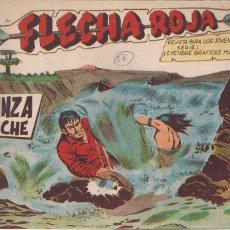 Tebeos: FLECHA ROJA Nº 56: VENGANZA COMANCHE. Lote 221599936