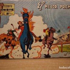 Tebeos: ESPIRITU DEL OESTE - NUMERO 15 - ORIGINAL - EDITORIAL MAGA - FLAMANTE, MUY NUEVO. Lote 221600418