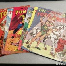 Tebeos: TONY Y ANITA EXTRAORDINARIO 1953 Y ALMANAQUES 1954, 1955, 1956, 1957, 1958 / REEDICIÓN. Lote 221687475