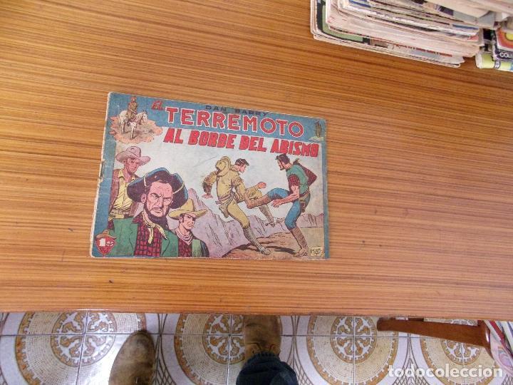 DAN BARRY EL TERREMOTO Nº 2 EDITA MAGA (Tebeos y Comics - Maga - Dan Barry)