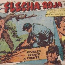 Tebeos: FLECHA ROJA Nº 63: RIVALES FRENTE A FRENTE. Lote 221817596