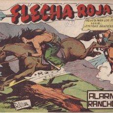 Tebeos: FLECHA ROJA Nº 65: ALARMA EN RANCHO R. Lote 221817853