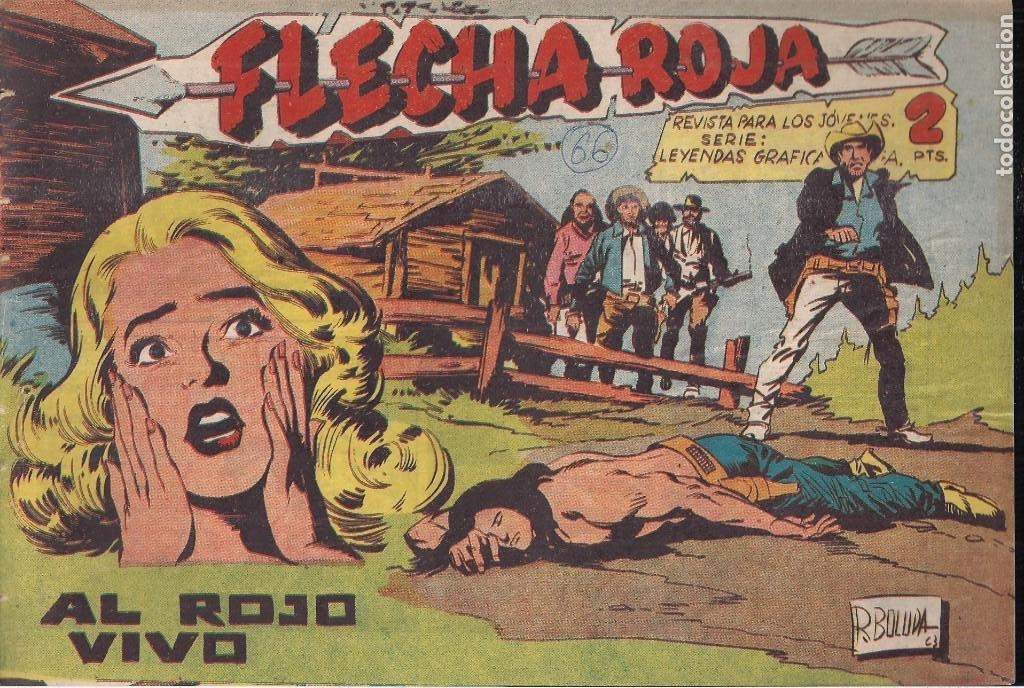 FLECHA ROJA Nº 66: AL ROJO VIVO (Tebeos y Comics - Maga - Flecha Roja)