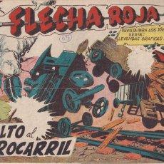 Tebeos: FLECHA ROJA Nº 67: ASALTO AL FERROCARRIL. Lote 221818083