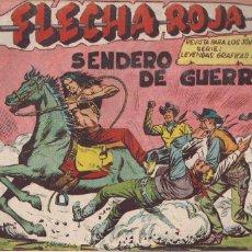 Tebeos: FLECHA ROJA Nº 68: SENDERO DE GUERRA. Lote 221818153