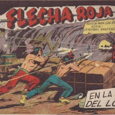 Tebeos: FLECHA ROJA Nº 69: EN LA BICA DEL LOBO. Lote 221818220