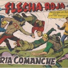 Tebeos: FLECHA ROJA Nº 71: FURIA COMANCHE. Lote 221818460