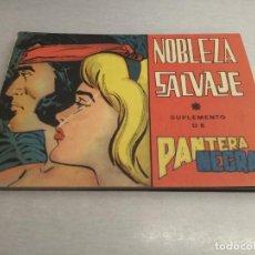 Tebeos: NOBLEZA SALVAJE / SUPLEMENTO DE PANTERA NEGRA / COMPLETA - MAGA ORIGINAL. Lote 221868477