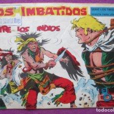 Tebeos: TEBEO LOS IMBATIDOS ENTRE LOS INDIOS Nº 5 ED. MAGA SERIE LOS TRES BILL ORIGINAL. Lote 221894225