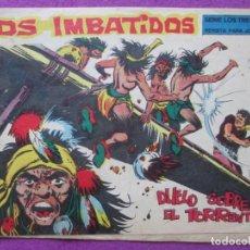 Tebeos: TEBEO LOS IMBATIDOS DUELO SOBRE EL TORRENTE Nº 6 ED. MAGA SERIE LOS TRES BILL ORIGINAL. Lote 221894385