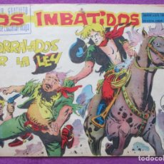Tebeos: TEBEO LOS IMBATIDOS ACORRALADOS POR LA LEY Nº 9 ED. MAGA SERIE LOS TRES BILL ORIGINAL. Lote 221906227