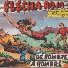 Tebeos: FLECHA ROJA Nº 72: DE HOMBRE A HOMBRE. Lote 221929083