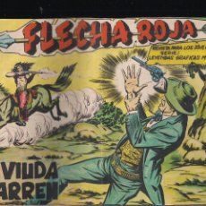 Tebeos: FLECHA ROJA Nº 74: LA VIUDA WARREN. Lote 221929693