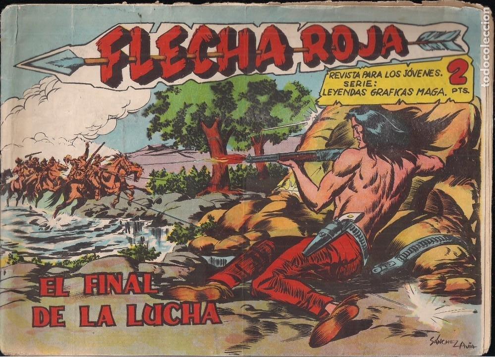 FLECHA ROJA Nº 76: EL FINAL DE LA LUCHA (Tebeos y Comics - Maga - Flecha Roja)