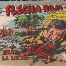 Tebeos: FLECHA ROJA Nº 76: EL FINAL DE LA LUCHA. Lote 221930517