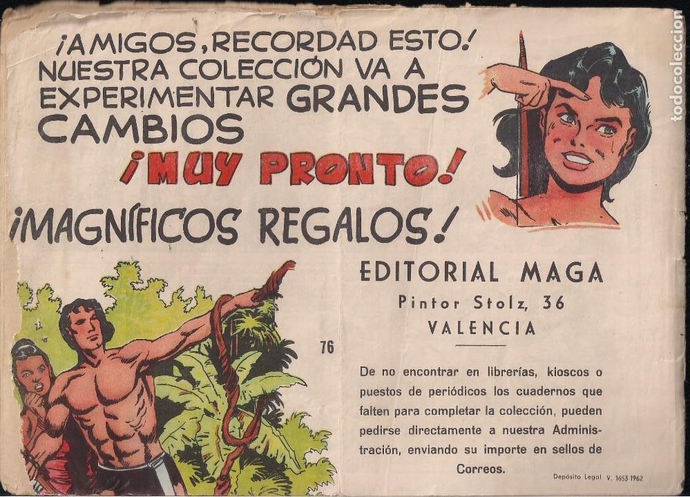Tebeos: FLECHA ROJA Nº 76: EL FINAL DE LA LUCHA - Foto 2 - 221930517
