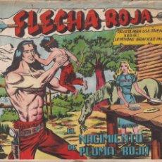 Tebeos: FLECHA ROJA Nº 79: EL NACIMIENTO DE PLUMA ROJA. Lote 221931641