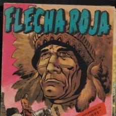 Tebeos: FLECHA ROJA REVISTA AÑO 1964 COLECCIÓN COMPLETA SON 65 TEBEOS ORIGINALES SON MUY DIFICILES. Lote 221942873