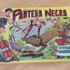Tebeos: PANTERA NEGRA Nº 3 HOMBRES LEOPARDOS (ORIGINAL MAGA) (COIB151). Lote 222359513