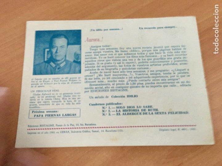 Tebeos: COLECCION IDILIO Nº 3 EL ALBERGUE DE LA SEXTA FELICIDAD (ORIGINAL GERSA) (COIB151) - Foto 2 - 222360276