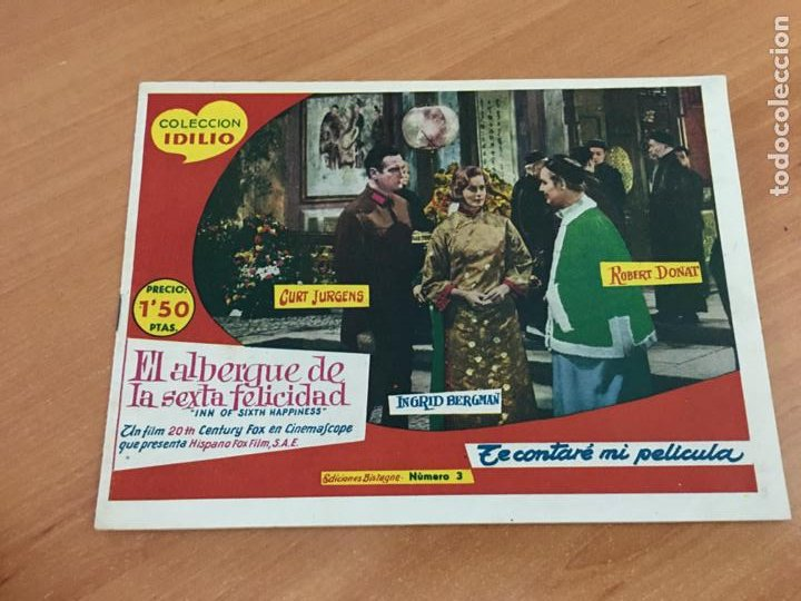 COLECCION IDILIO Nº 3 EL ALBERGUE DE LA SEXTA FELICIDAD (ORIGINAL GERSA) (COIB151) (Tebeos y Comics - Maga - Pequeño Héroe)