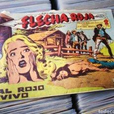 Tebeos: FLECHA ROJA- AL ROJO VIVO, N°66. EDITORIAL MAGA.. Lote 222550508