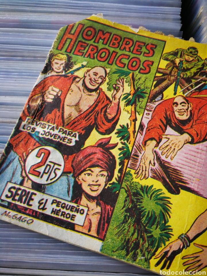 Tebeos: HOMBRES HEROICOS (SERIE EL PEQUEÑO HÉROE)- VENDIDOS AL ENEMIGO. N°3, EDITORIAL MAGA. - Foto 2 - 222627096