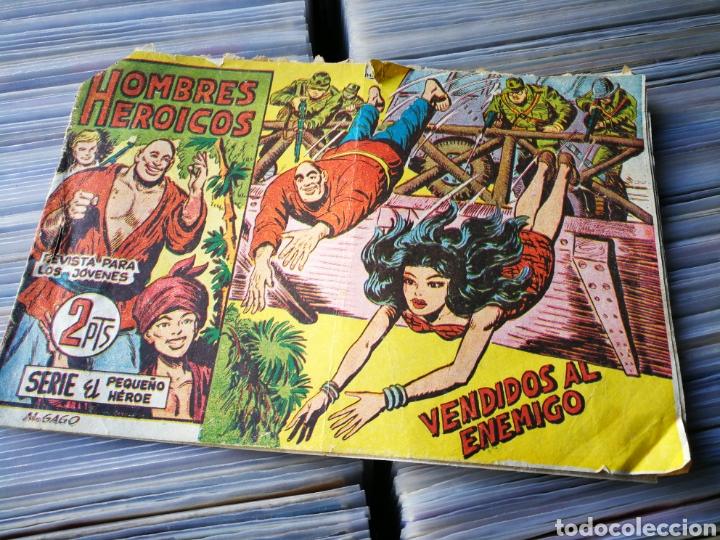 HOMBRES HEROICOS (SERIE EL PEQUEÑO HÉROE)- VENDIDOS AL ENEMIGO. N°3, EDITORIAL MAGA. (Tebeos y Comics - Maga - Pequeño Héroe)